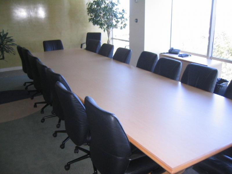 The Systems Group Conference Tables - 6 foot round conference table